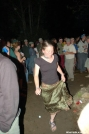 Gia at the bonfire Friday night by Pack Mule in 2006 Trail Days
