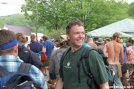 Crazy hikers by Pack Mule in 2006 Trail Days