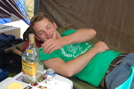 The Morning After by Pack Mule in Trail Days 2007