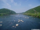 Shenandoah River from the \
