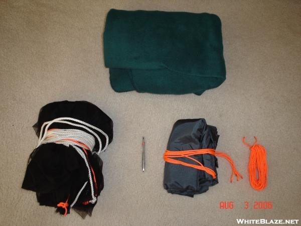hammock all pakced up