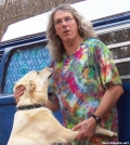 """ShepDawg"" and Greta the  Wonder Dog by Asheville in Faces of WhiteBlaze members"