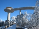 Clingmans Dome viewing tower by firemountain in Views in North Carolina & Tennessee