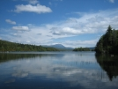 Katahdin from lake by firemountain in Katahdin Gallery