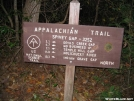 Spivey Gap Trail Sign North Carolina by Rusty41 in Trail & Blazes in North Carolina & Tennessee