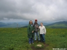Carlene, James, and Pam on Max Patch Bald by Rusty41 in Trail & Blazes in North Carolina & Tennessee
