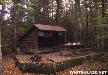 katahdin stream campground lean to 1 whiteblaze gallery. Black Bedroom Furniture Sets. Home Design Ideas