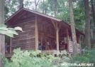 The Newer Peters Mountain Shelter