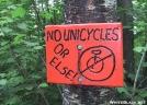 No Unicyles