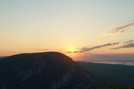 Sun Rises Over Mt. Tammany Nj