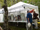 Ft Booth At 2008 Clyde Butcher Muck-about by wahoo in Florida Trail