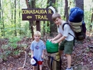Conasauga River Trail, Cohutta Wilderness. Aug. 2007 by jesse in Section Hikers