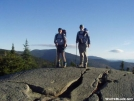 Attroll and Frosty atop Fulling Mill Mtn. by walkin' wally in Views in Maine