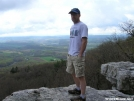 Tim at Pulpit Rock by cowpens in Day Hikers