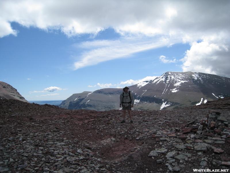 Egads hiking Red Gap at Glacier NP
