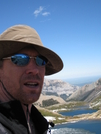 Glacier Waterton Hike - Egads Self Portrait by Egads in Continental Divide Trail