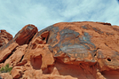 Indian Petroglyphs at Valley of Fire by Egads in Other Trails