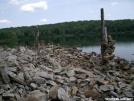 Rock Art Sunfish Pond by Alligator in Trail & Blazes in New Jersey & New York